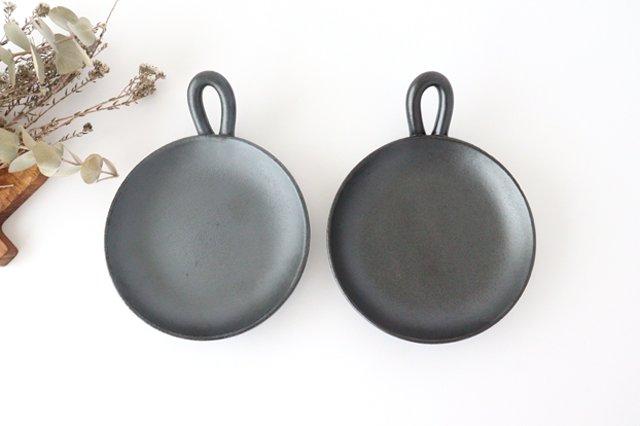 《耐熱陶器》萬古焼 手付きプレート 画像5
