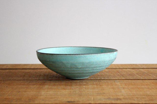 美濃焼 盛り鉢 マットトルコ 陶器