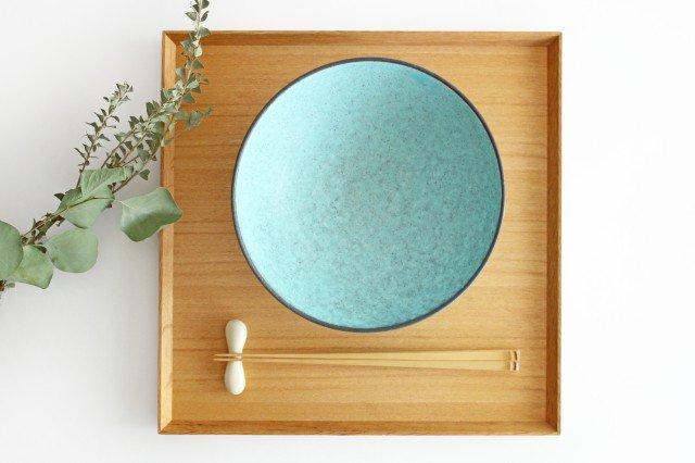 美濃焼 盛り鉢 マットトルコ 陶器 画像2