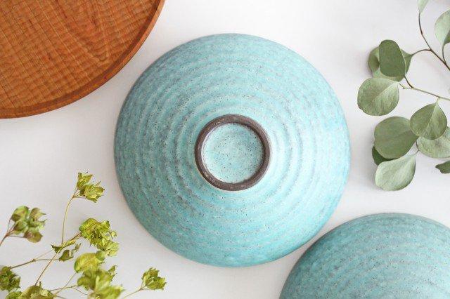 美濃焼 盛り鉢 マットトルコ 陶器 画像3