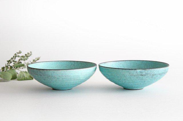 美濃焼 盛り鉢 マットトルコ 陶器 画像4