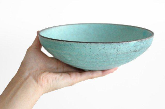 美濃焼 盛り鉢 マットトルコ 陶器 画像5