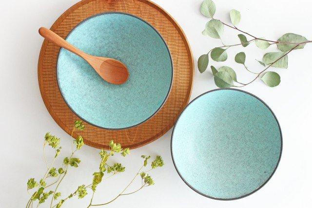 美濃焼 盛り鉢 マットトルコ 陶器 画像6
