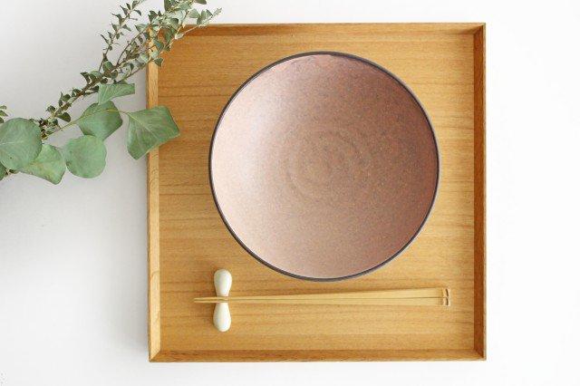 美濃焼 盛り鉢 マットピンク 陶器 画像2
