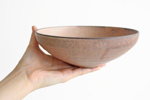 美濃焼 盛り鉢 マットピンク 陶器 画像3