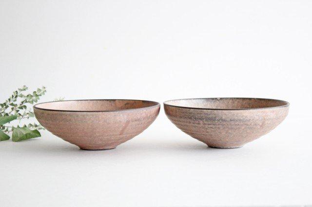 美濃焼 盛り鉢 マットピンク 陶器 画像5