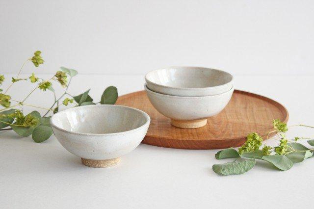 美濃焼 粉引 飯碗 クラウド 陶器
