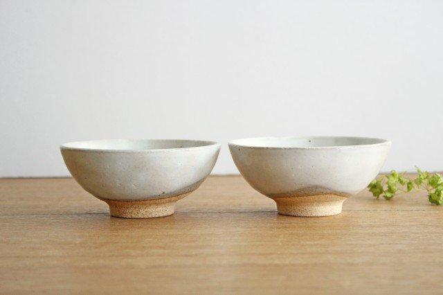 美濃焼 粉引 飯碗 クラウド 陶器 画像3