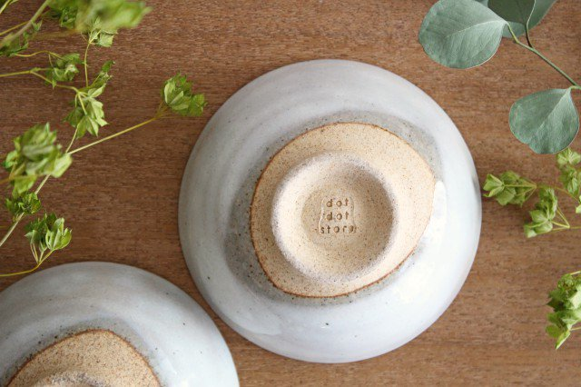 美濃焼 粉引 飯碗 クラウド 陶器 画像6