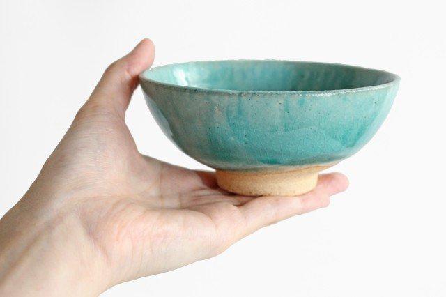 美濃焼 粉引 飯碗 スカイ 陶器
