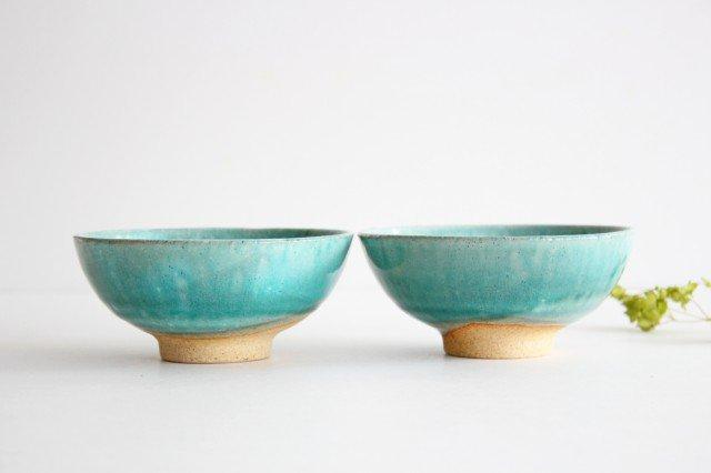 美濃焼 粉引 飯碗 スカイ 陶器 画像3