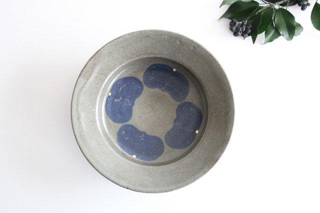 スープ皿 緑 陶器 小山暁子 画像2