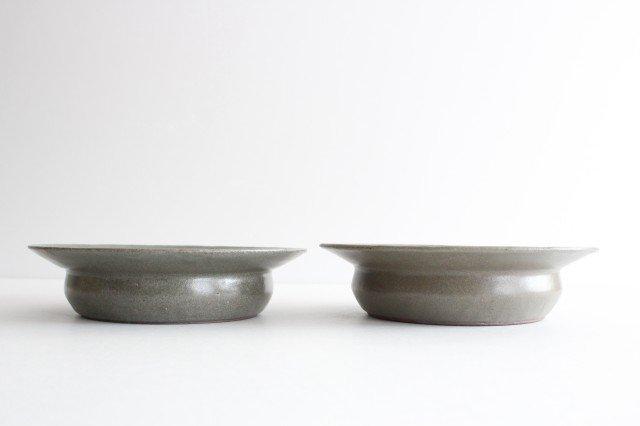 スープ皿 緑 陶器 小山暁子 画像3