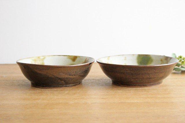 6寸鉢 オーグスヤアメ 点打 陶器 青陶舎 やちむん 画像5