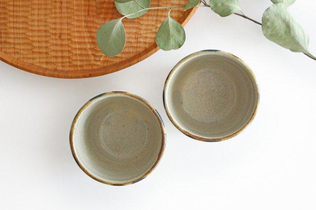 そばちょこカップ 3色ドット 陶器 mug やちむん 画像3