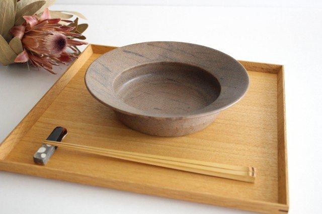 スープ皿 茶 陶器 小山暁子 画像2
