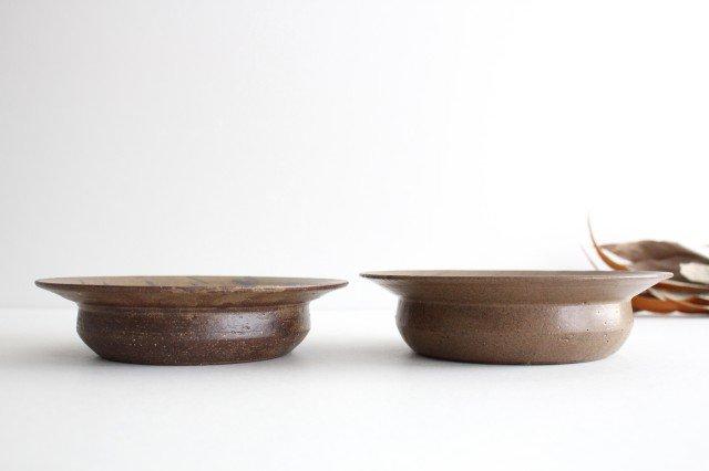 スープ皿 茶 陶器 小山暁子 画像5