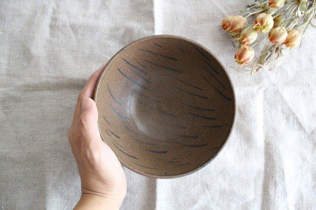 ボウル 小 茶 陶器 小山暁子 画像5