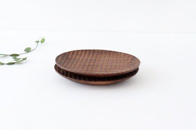 楕円豆皿 ブラックウォルナット Semi-Aco 加賀雅之 画像6