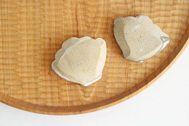 ごはん箸置き 白 陶器 圭秀窯 小石原焼 画像3