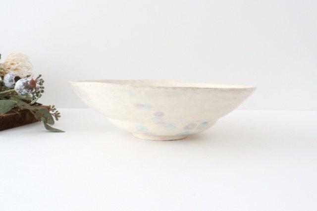 雫の森 大鉢 カラフル 森のあそび 陶器 こむろしずか 画像4