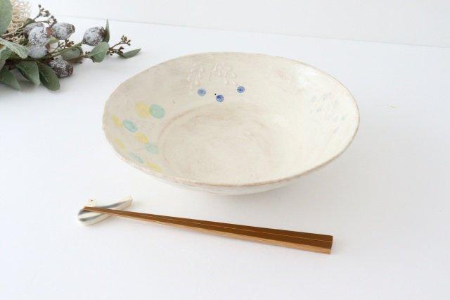 雫の森 大鉢 カラフル 森のあそび 陶器 こむろしずか 画像6