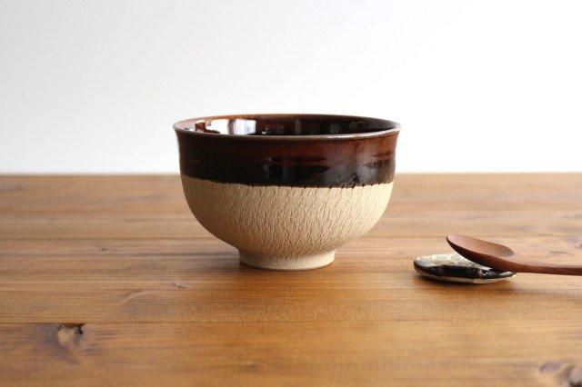 どんぐり鉢 アメ 陶器 圭秀窯 小石原焼