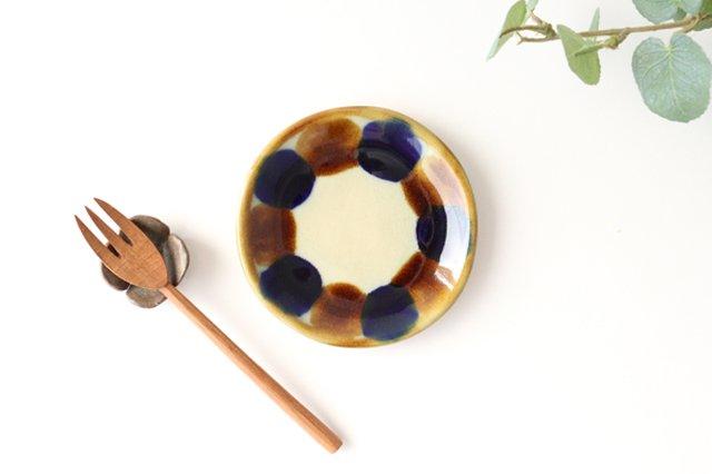 3.5寸皿 輪 陶器 土工房 陶糸 やちむん