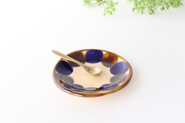 3.5寸皿 輪 陶器 土工房 陶糸 やちむん 画像4