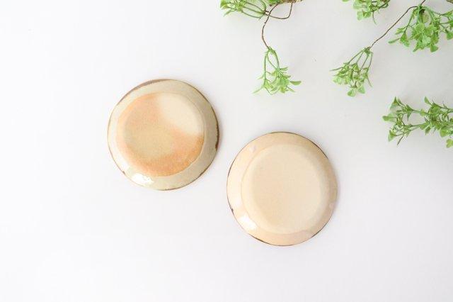 3.5寸皿 輪 陶器 土工房 陶糸 やちむん 画像5