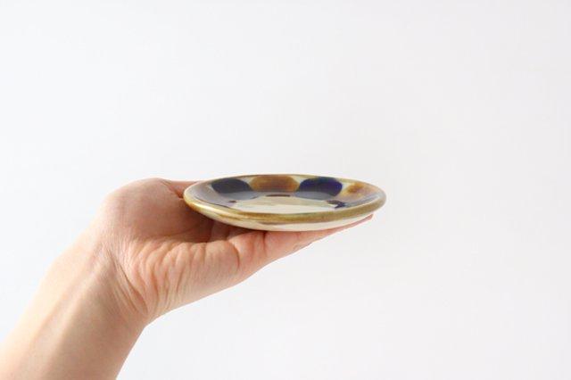 3.5寸皿 輪 陶器 土工房 陶糸 やちむん 画像6