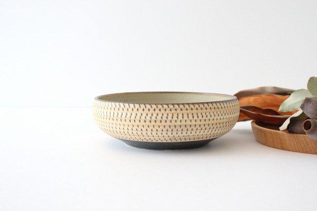 丸鉢 中 トビカンナ 陶器 ツチノヒ やちむん
