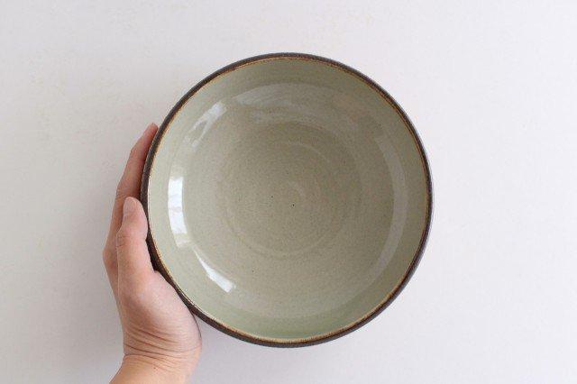 丸鉢 中 トビカンナ 陶器 ツチノヒ やちむん 画像2