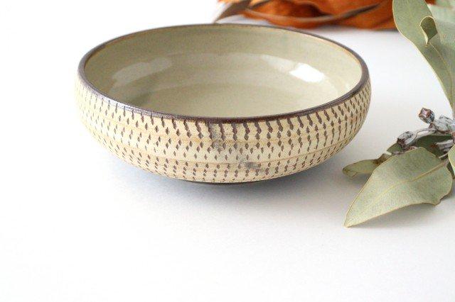 丸鉢 中 トビカンナ 陶器 ツチノヒ やちむん 画像3