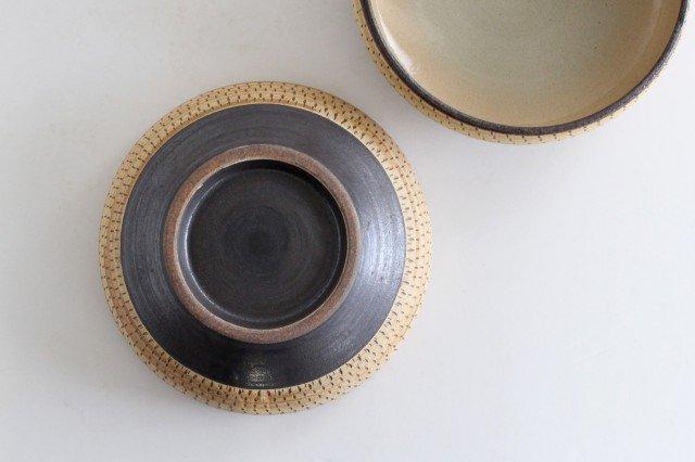 丸鉢 中 トビカンナ 陶器 ツチノヒ やちむん 画像4