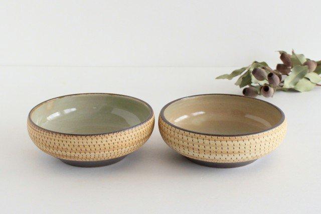 丸鉢 中 トビカンナ 陶器 ツチノヒ やちむん 画像6