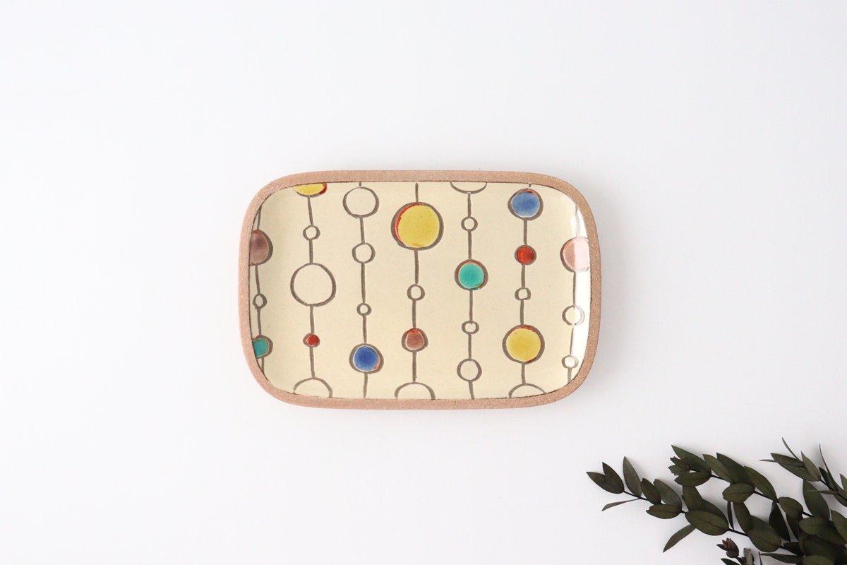 角皿 小 ボンボン 陶器 一翠窯 やちむん