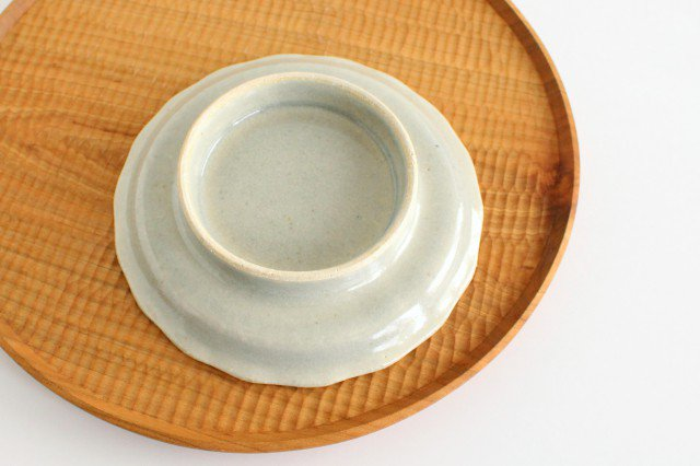 5寸コンポート やわグレー 陶器 たくまポタリー 画像4