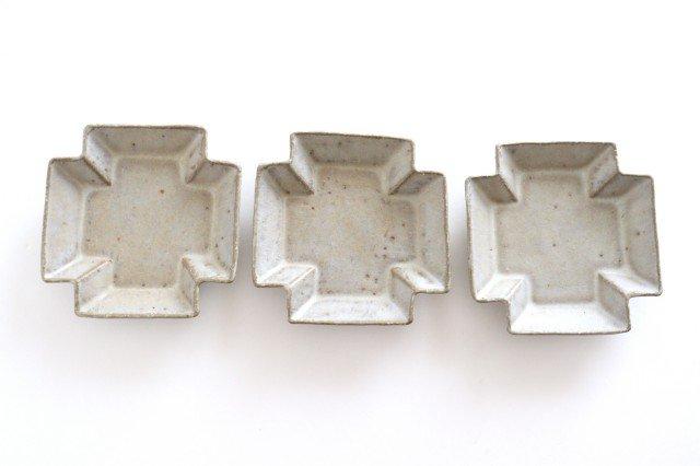 小皿 プラス グレー 陶器 たくまポタリー 画像4