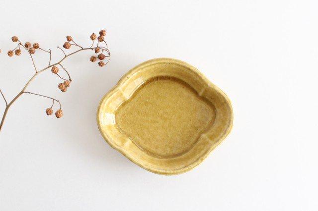 美濃焼 モチーフ 木瓜小皿 飴 陶器