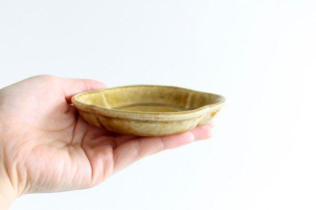 美濃焼 モチーフ 木瓜小皿 飴 陶器 画像3