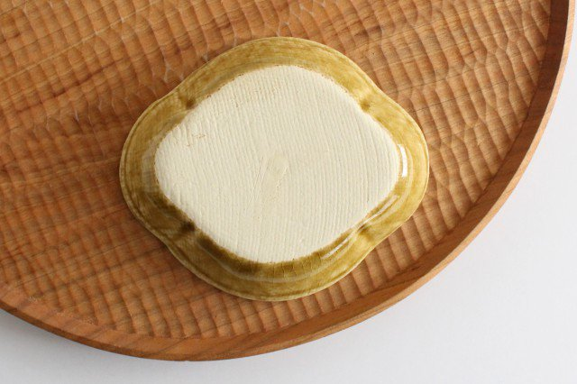 美濃焼 モチーフ 木瓜小皿 飴 陶器 画像5
