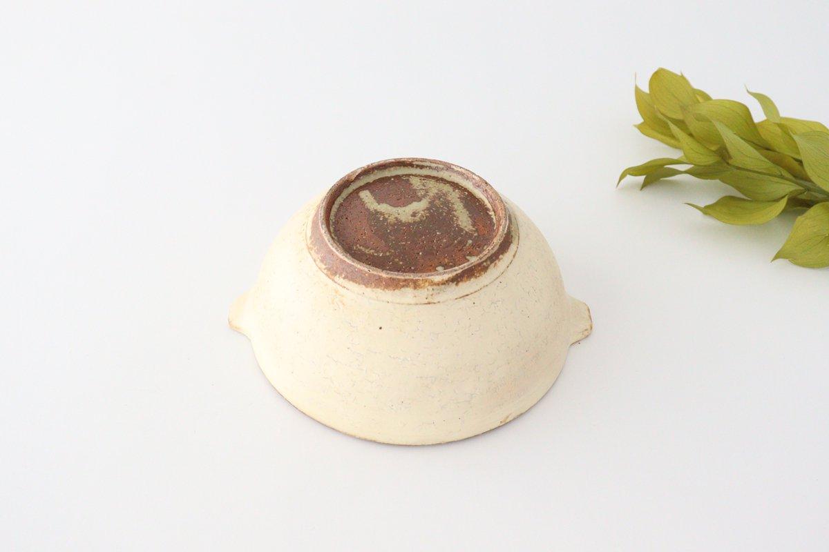 粉福 耳付きスープボウル L 陶器 木のね 画像5