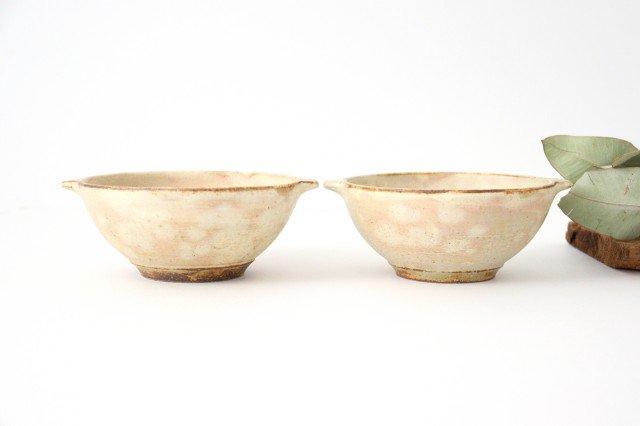粉福 耳付きスープボウル L 陶器 木のね 画像6