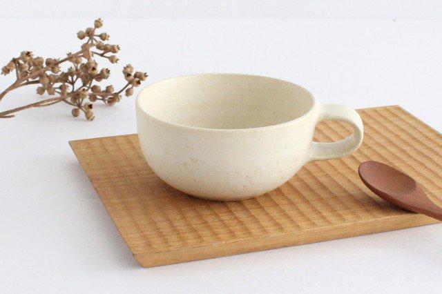 スープカップ 白 陶器 寺嶋綾子