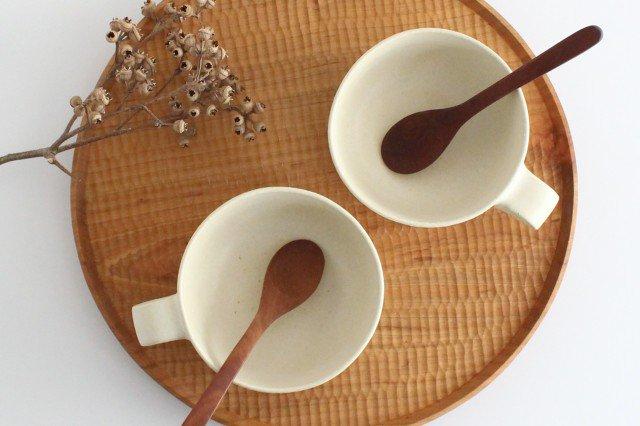 スープカップ 白 陶器 寺嶋綾子 画像5