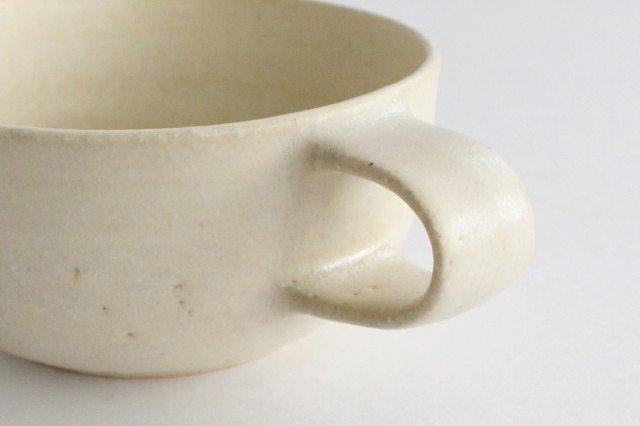 スープカップ 白 陶器 寺嶋綾子 画像6