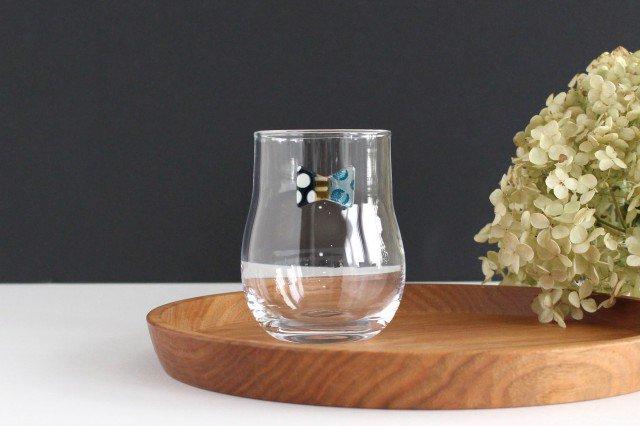 おめかしグラス ブルードット ガラス 23n. 滝川ふみ