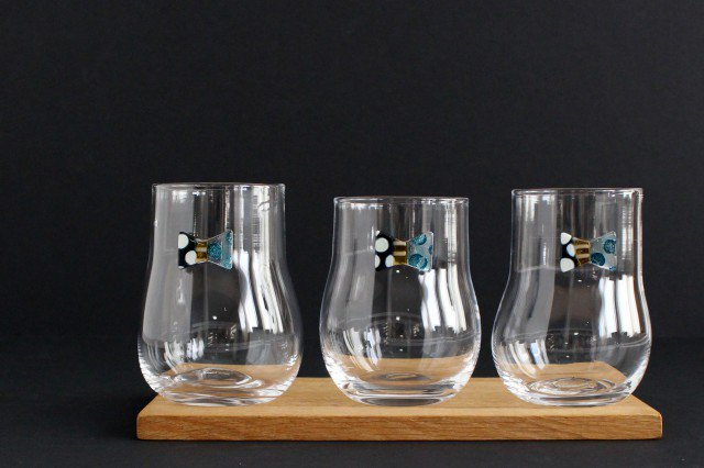 おめかしグラス ブルードット ガラス 23n. 滝川ふみ 画像6
