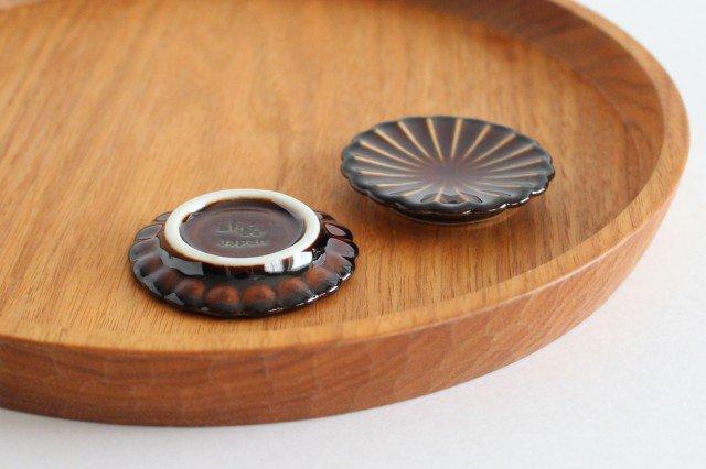 箸置き 漆(茶) 磁器 ぎやまん 美濃焼 画像3